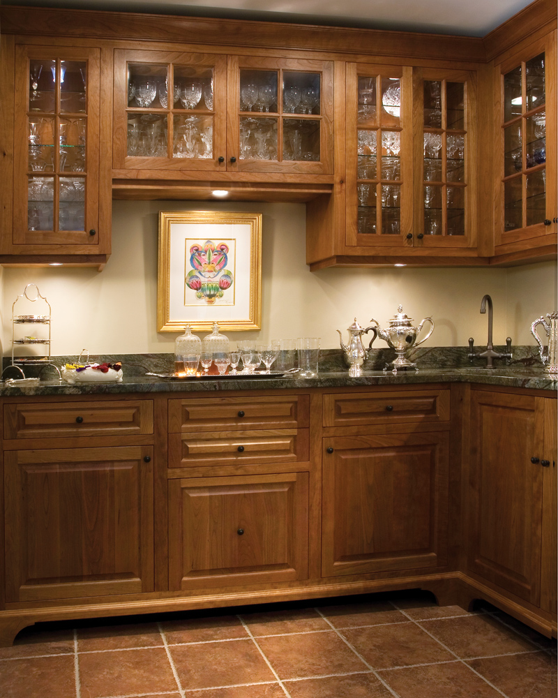 Balding Brothers Custom Wet Bar Cabinetry
