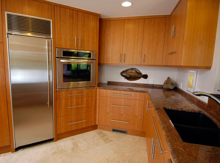 Balding Brothers – Vertical Grain Cherry Cabinets