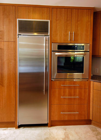 Balding Brothers Vertical Grain Cherry Cabinets