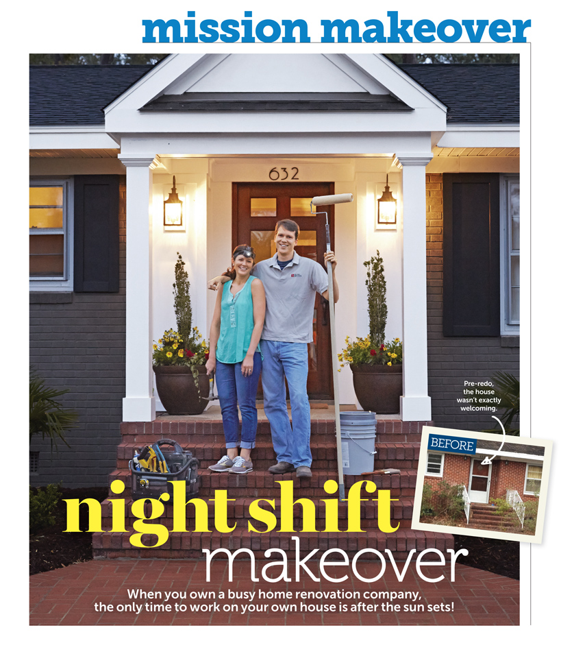 HGTV Article - Balding Brothers - Night Shift Makeover